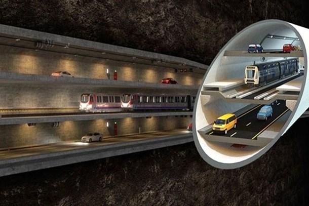 3 Katlı Büyük İstanbul Tüneli'nde start verildi!