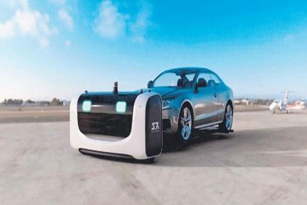 Arabaları robotlar park edecek