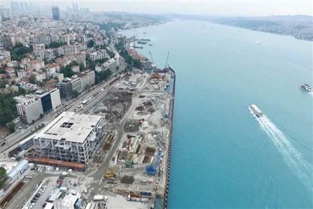 Galataport'ta son yıkımlar!