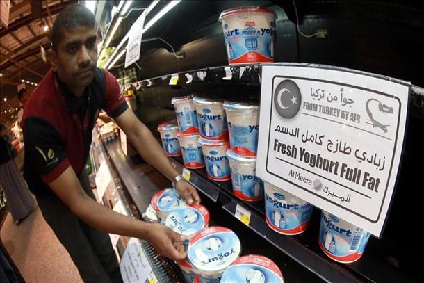 Türk mallarına Katar dopingi