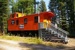 Tren vagonları otele dönüştürüldü!