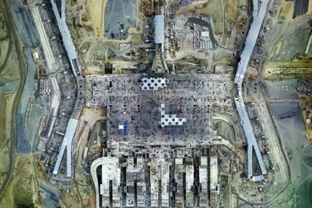 3. Havalimanı uzaydan görülüyor!