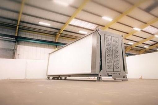 Bu konteyner tek tuşla eve dönüşüyor!