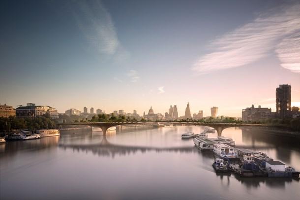 Londra'nın 'Bahçe Köprüsü'ne onay çıkmadı!