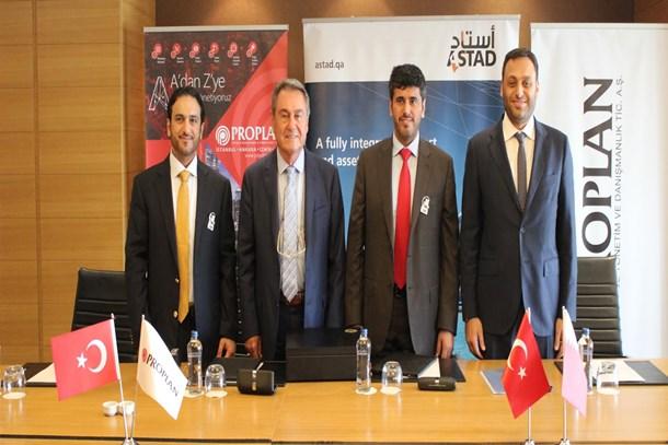 PROPLAN Katarlı şirketle anlaşma imzaladı!