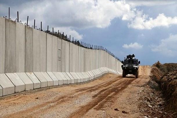 Suriye sınırındaki duvarda sona doğru!