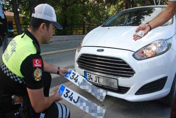APP plaka kullanan sürücüler dikkat!