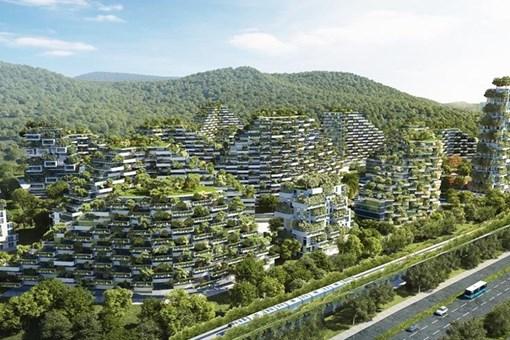 Orman şehirler geliyor!