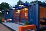 Görünümleriyle hayranlık uyandıran konteyner evler