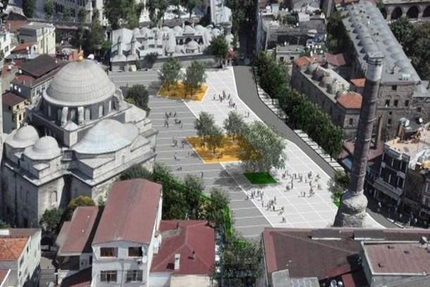 İstanbul'un iki önemli meydanı yenileniyor
