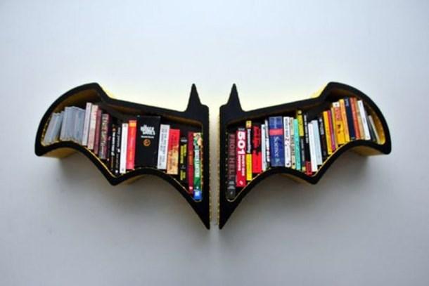 Eviniz için birbirinden iddialı kitaplık tasarımları