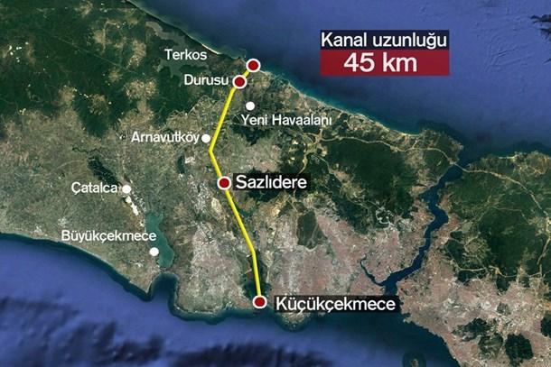 Emlak Konut'tan Katar'da dev Kanal İstanbul hamlesi