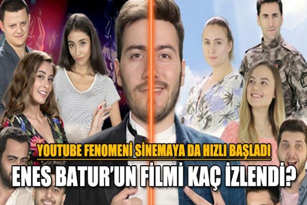 Enes Batur'un filmi kaç izlendi?