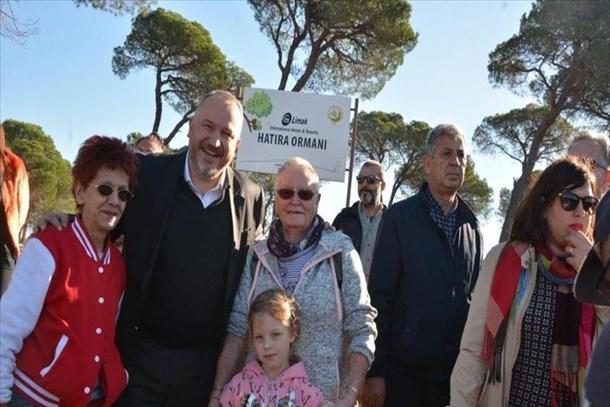 Limak Turizm Grubu 10 bin yeni fidan dikti