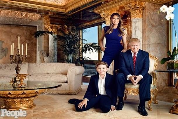 İşte ABD Başkanı Trump'ın altın kaplama evi