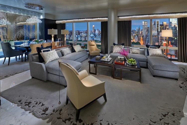 10. Suite 5000 - Mandarin Oriental New York - New York - 36 bin dolar<br />