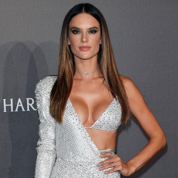 Ünlü model Alessandra Ambrosio sadece güzelliği ile değil aynı zamanda California, Santa...
