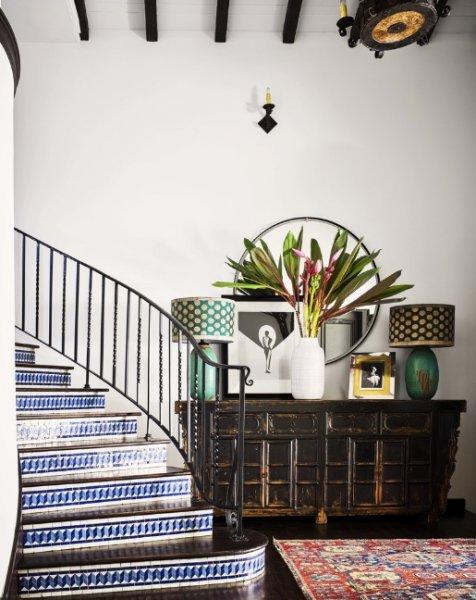 Alessandra Ambrosio'nun evi, Brezilya'nın bohem ruhunu California'nın Rock'n'Roll tarzıyla...