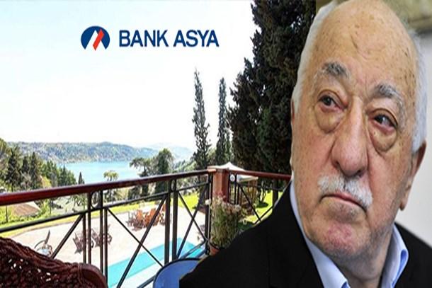 Bank Asya'nın Boğaz manzaralı villası satışa çıkıyor