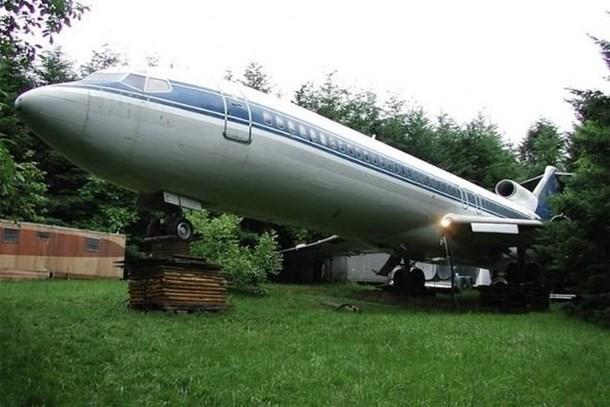 Yolcu uçağını muhteşem bir eve çevirdi