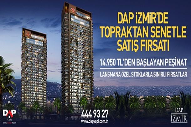 DAP İzmir'de topraktan senetle satış fırsatı