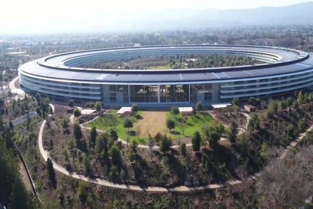 Apple'ın yeni binası görenleri kendine hayran bırakıyor