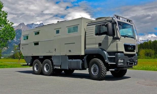 Avustralyalı Action Mobil tarafından tasarlanan bu araç zırhlı bir kamyon. Ancak bildiğimiz...