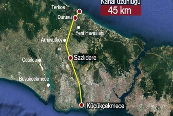 Kanal İstanbul'da dev yatırım