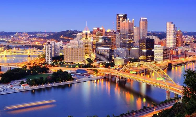 18- Pittsburgh, Pennsylvania, ABD<br />