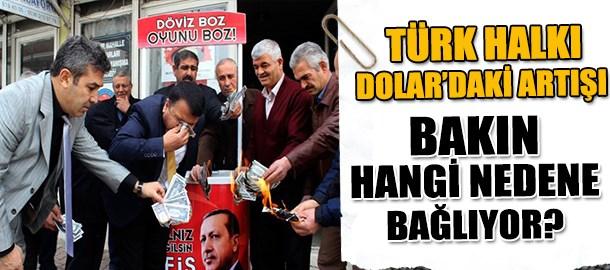 Türk halkı doların yükselmesini bakın neye bağlıyor?
