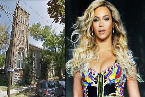 Beyonce asırlık kilise satın aldı