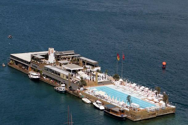 Galatasaray Adası'na köşk mü yapılacak?