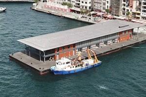 Karaköy, yeni iskelesine kavuştu