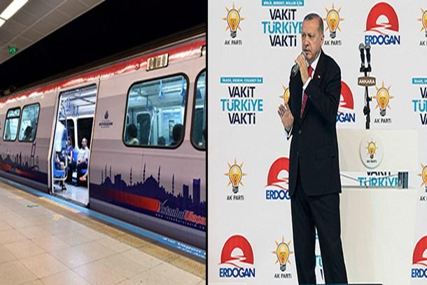 Erdoğan 14 yeni metro hattı müjdesi verdi