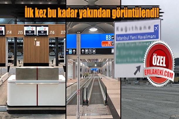 3. Havalimanı'nın içinden ilk görseller ortaya çıktı