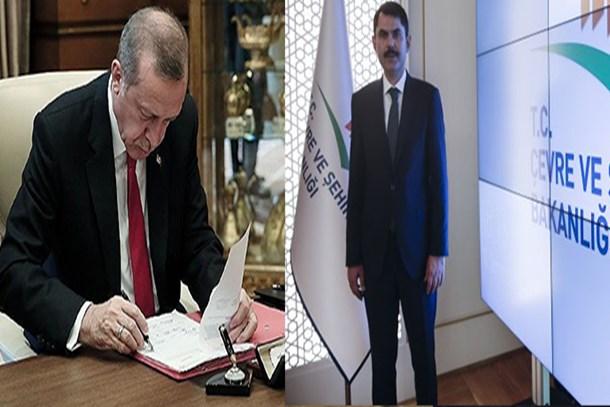 Erdoğan'dan Murat Kurum değerlendirmesi