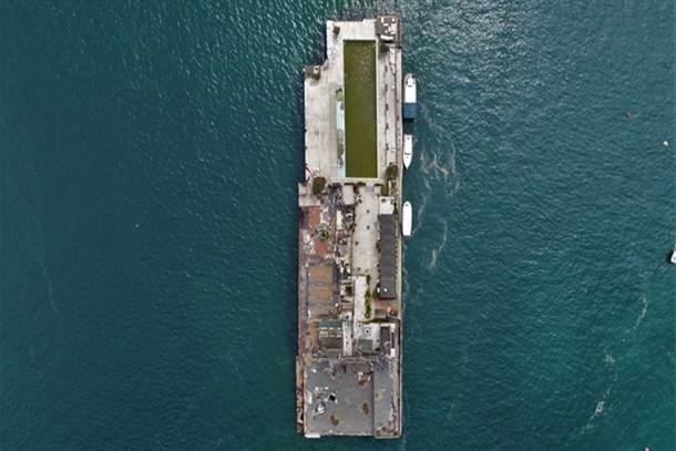 Galatasaray Adası'nda yıkım bitti