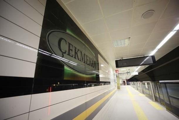 Yeni metro hattı ağustosta açılıyor!
