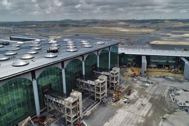 3. havalimanı o bölgeleri uçurdu!