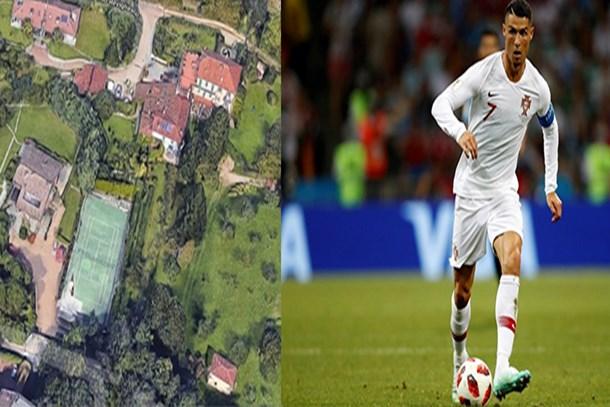 İşte Ronaldo'nun İtalya'daki yeni evi