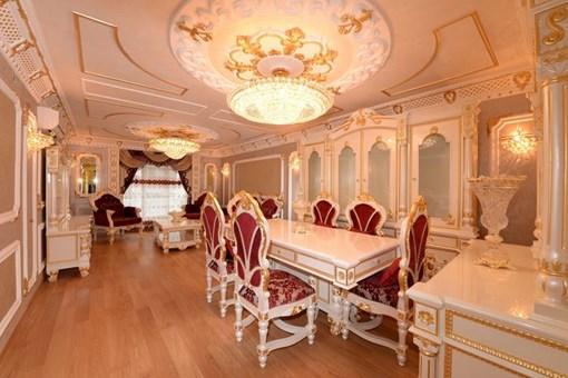 İşte Malatya'nın altın kaplama apartmanı
