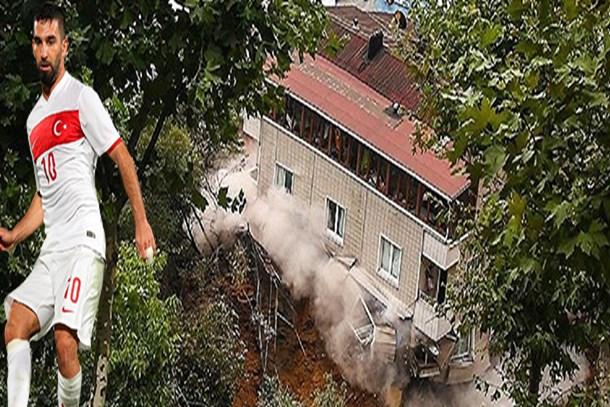 Beyoğlu'nda çöken binanın sahibi: Arda Turan...