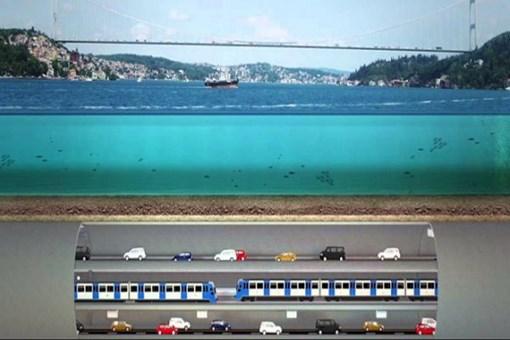 İşte Büyük İstanbul Tüneli'nin güzergahı!