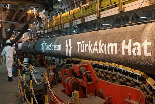 TürkAkım'ın ikinci hattında 435 kilometreye ulaşıldı