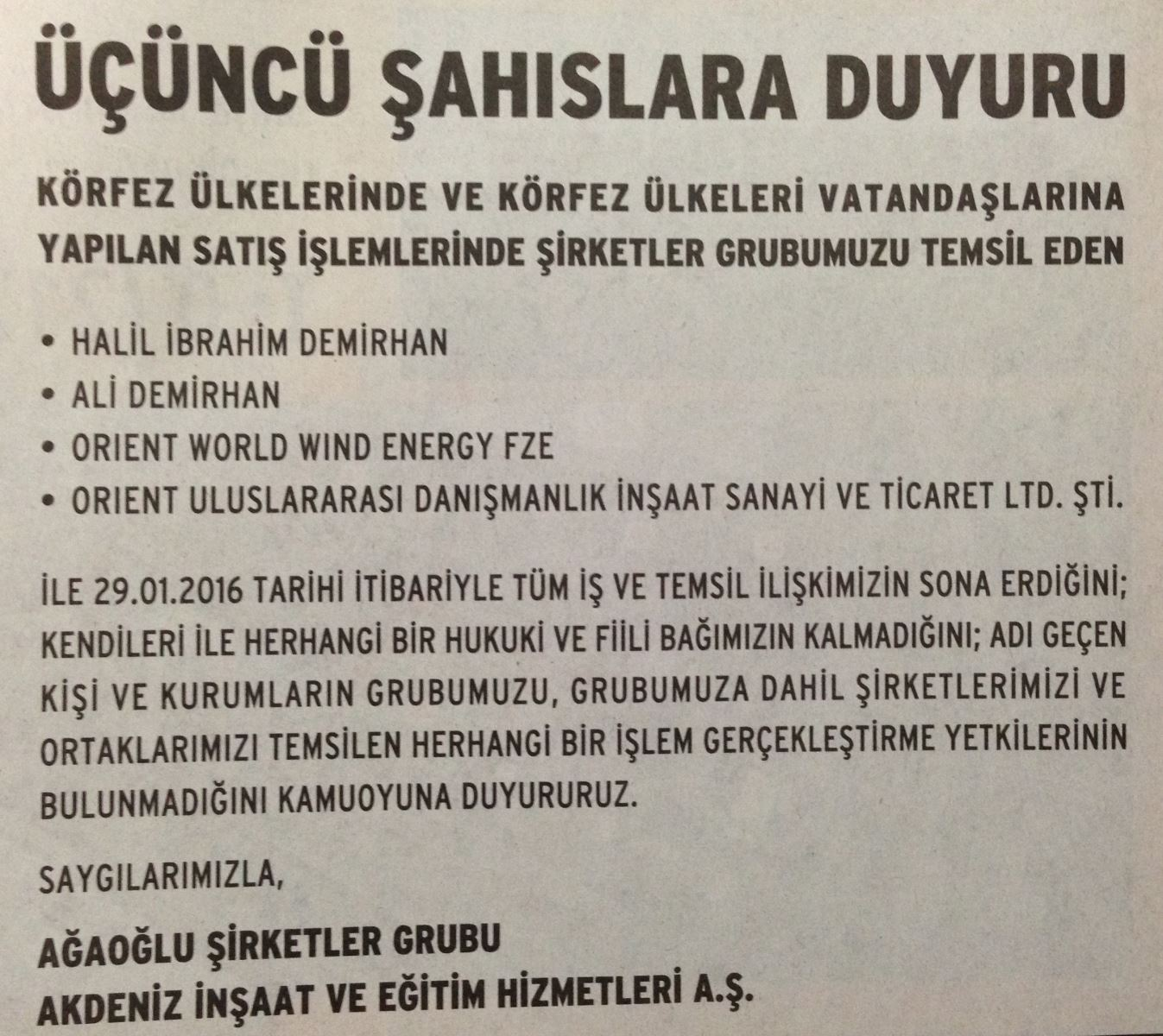 Yapı Kredi Bankası: Ahmet Kuralla iş birliğimize devam etmeyeceğiz